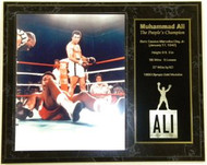 "Muhammad Ali ""The People's Champion"" Custom 12x15 Boxing Plaque - muhammadalipl8"