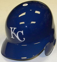 Kansas City Royals Rawlings Full Size Authentic Right Handed Batting Helmet - Left Flap Regular