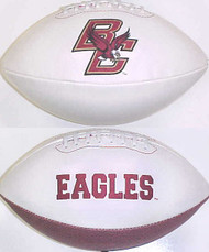 Boston College Eagles Rawlings Jarden Sports Signature NCAA Full Size Fotoball Football - BLOWN UP with BOX & PEN