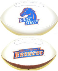 Boise State Broncos Rawlings Jarden Sports Signature NCAA Full Size Fotoball Football - BLOWN UP with BOX & PEN