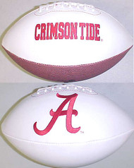 Alabama Crimson Tide Rawlings Jarden Sports Signature NCAA Full Size Fotoball Football - BLOWN UP with BOX & PEN