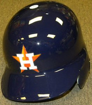 Houston Astros Rawlings Full Size Authentic Right Handed Batting Helmet - Left Flap Regular