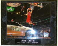 Blake Griffin Los Angeles Clippers 2011 All-Star Game Slam Dunk Contest Champion NBA 10.5x13 Plaque