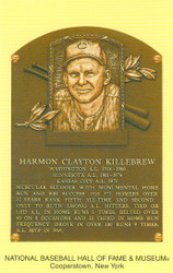 Harmon Killebrew Twins Hall Of Fame Postcard