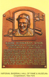 Ralph Kiner Pirates Hall Of Fame Postcard