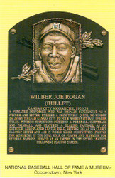 Wilber Joe Rogan Monarchs Hall Of Fame Postcard