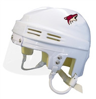 Arizona Coyotes NHL White Player Mini Hockey Helmet