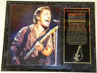 "Bruce Springsteen ""The Boss"" 15 x 12 Music Plaque"