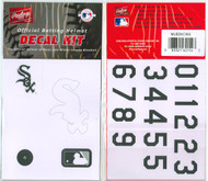 Chicago White Sox Official Rawlings Authentic Batting Helmet Decal Kit