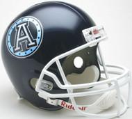 Toronto Argonauts Riddell CFL Deluxe Replica Full Size Helmet