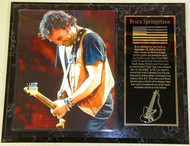 "Bruce Springsteen ""The Boss"" 15 x 12 Music Plaque - springsteenpl2"