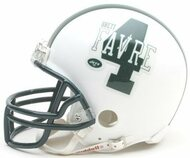 Brett Favre New York Jets Riddell NFL Replica Player Mini Helmet