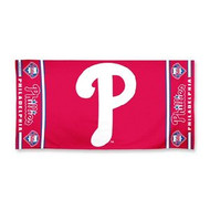 "Philadelphia Phillies WinCraft McArthur 30""x60"" Fiber Beach Towel"