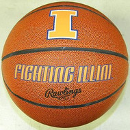 Illinois Fightning Illini NCAA Rawlings Tip Off Full Size Basketball