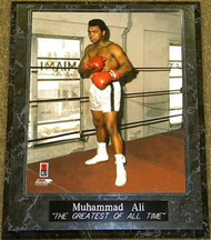 "Muhammad Ali ""THE GREATEST OF ALL TIME"" 10.5x13 Boxing Plaque - muhammadalipl2"