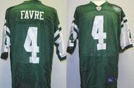 Brett Favre New York Jets Custom Green Reebok Licensed Mesh Souvenir NFL On Field Jersey Size XL