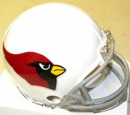 Arizona Cardinals 1960-2004 Z2B Riddell NFL Replica Throwback Mini Helmet