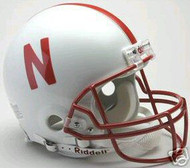 Nebraska Cornhuskers Riddell NCAA Collegiate Authentic Pro Line Full Size Helmet
