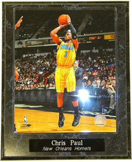 Chris Paul New Orleans Hornets NBA 10.5x13 Plaque
