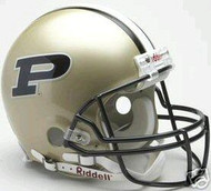 Purdue Boilermakers Riddell NCAA Collegiate Authentic Pro Line Full Size Helmet