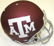 Texas A&M Aggies RED Riddell NCAA Collegiate Authentic Pro Line Full Size Helmet