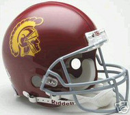 USC Trojans Riddell NCAA Collegiate Authentic Pro Line Full Size Helmet