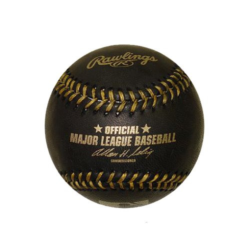Rawlings Official Black With Gold Stitching Major League
