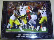 Ben Roethlisberger Pittsburgh Steelers Super Bowl XLIII 43 Champion 10.5x13 Plaque - brsb43p2