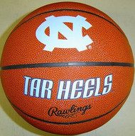 North Carolina Tar Heels NCAA Rawlings Tip Off Full Size Basketball