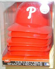 Philadelphia Phillies MLB Rawlings 6-Pack Collectible Snack Helmet