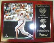 Mike Schmidt Philadelphia Phillies 1980 World Series Champions MLB 12x15 Plaque
