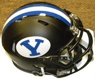 BYU Brigham Young Cougars BLACK Riddell NCAA Replica Revolution SPEED Mini Helmet
