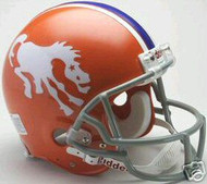 Denver Broncos 1966 Riddell NFL Authentic Pro Line Throwback Full Size Helmet