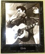 """Elvis Aaron Presley """"The King"""" Legendary Musician & Actor 10.5 x 13 Plaque"""