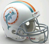 Miami Dolphins 1972 Riddell NFL Authentic Pro Line Throwback Full Size Helmet