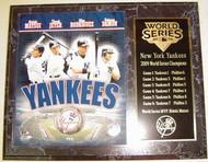 New York Yankees 2009 World Series Champions 12x15 Plaque