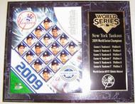 New York Yankees 2009 World Series Champions 12x15 Plaque - nyy2009wsp4
