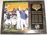 New York Yankees 2009 World Series Champions 12x15 Plaque - p2009wsc5