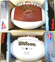 Wilson Official NCAA Autograph Football Model WTF1196R