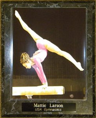 Mattie Larson 2011 Team USA Gymnastics 10.5x13 Balance Beam Plaque