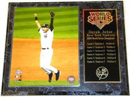 Derek Jeter New York Yankees 2009 World Series Champions 12x15 Plaque - customjeterpl1