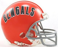 Cincinnati Bengals 1968-1979 Z2B Riddell NFL Replica Throwback Mini Helmet