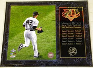 Mariano Rivera New York Yankees 2009 World Series Champions 12x15 Plaque