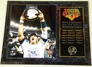 Alex Rodriguez New York Yankees 2009 World Series Champions 12x15 Plaque