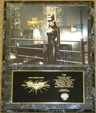 Anne Hathaway Catwoman 12x15 The Dark Knight Rises Batman Movie Plaque - tdkrpl4