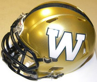 Winnipeg Blue Bombers Riddell CFL Replica Revolution SPEED Mini Helmet