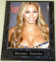 Beyonce Knowles Sexy 10.5x13 Music Plaque
