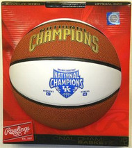 Kentucky Wildcats 2012 Men's National Champions Signature Rawlings NCAA Full Size Basketball