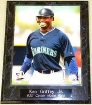 Ken Griffey Jr. Seattle Mariners 630 Career Home Runs MLB 10.5 x 13 Plaque