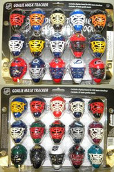 Franklin NHL Goalie Hockey Mask Standings Tracker